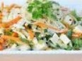 Vietnamese-Inspired Cabbage and Rice Noodle Salad